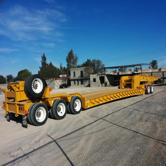 Lowboys y Plataformas. Transporte de Maquinaria Pesada en Monterrey, Nuevo León